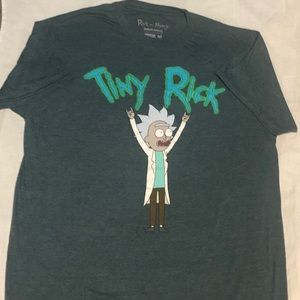 "Ricky & Morty  "" tiny Rick "" t-shirt  mens medium"